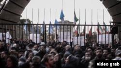 سکوت درباره برخورد با عوامل سرنگونی هواپیمای اوکراینی؛ برخورد با معترضان: ۳۰ نفر بازداشت شدند