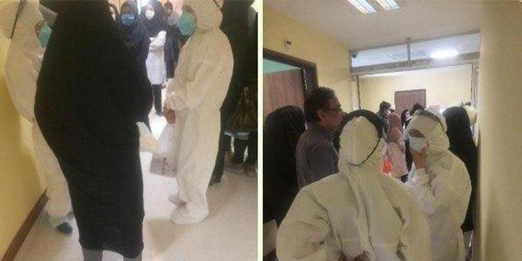 افشای پنهانکاری نظام آخوندی در بیمارستان مدرس تهران